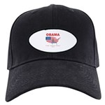 Obama for President Black Cap
