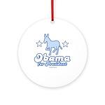 Obama for President Ornament (Round)