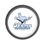 Obama for President Wall Clock