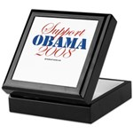 Support Obama Keepsake Box