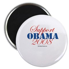 "Support Obama 2.25"" Magnet (10 pack)"