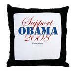 Support Obama Throw Pillow