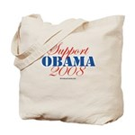 Support Obama Tote Bag