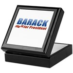 Barack for President Keepsake Box