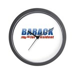 Barack for President Wall Clock