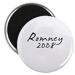 Mitt Romney Autograph Magnet