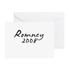 Mitt Romney Autograph Greeting Cards (Pk of 10)