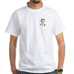 Mitt Romney Face White T-Shirt