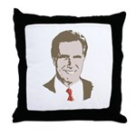 Mitt Romney Face Throw Pillow