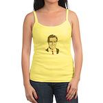 Mitt Romney Face Jr. Spaghetti Tank