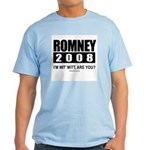 Romney 2008: I'm wit' Mitt. Are you? Light T-Shirt