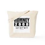 Romney 2008: Get wit' Mitt Tote Bag