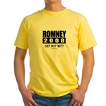 Romney 2008: Get wit' Mitt Yellow T-Shirt