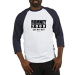Romney 2008: Get wit' Mitt Baseball Jersey
