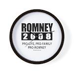 Romney 2008: Pro-life, Pro-family, Pro-Romney Wall