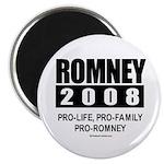 Romney 2008: Pro-life, Pro-family, Pro-Romney Magn