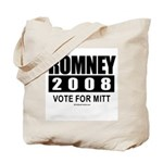 Romney 2008: Vote for Mitt Tote Bag