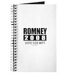 Romney 2008: Vote for Mitt Journal