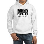 Romney 2008: Vote for Mitt Hooded Sweatshirt