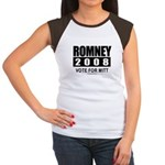 Romney 2008: Vote for Mitt Women's Cap Sleeve T-Sh