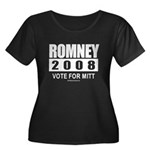 Romney 2008: Vote for Mitt Women's Plus Size Scoop
