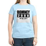 Romney 2008: I'm wit Mitt Women's Light T-Shirt