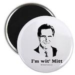 ROMNEY 2008: 'm wit' Mitt Magnet