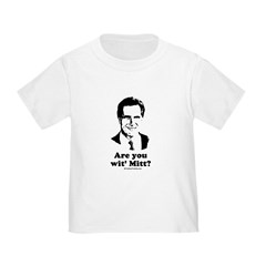 ROMNEY 2008: Are you with Mitt? Toddler T-S