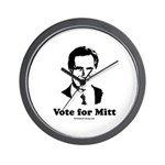 ROMNEY 2008: Vote for Mitt Wall Clock