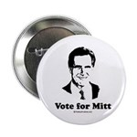 ROMNEY 2008: Vote for Mitt Button