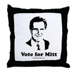 ROMNEY 2008: Vote for Mitt Throw Pillow