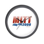 Mitt 2008 Wall Clock