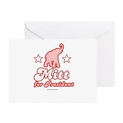 Mitt for President Greeting Card