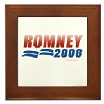 Romney 2008 Framed Tile