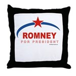 Romney for President Throw Pillow