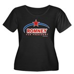 Romney for President Women's Plus Size Scoop Neck