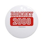 Romney 2008 Ornament (Round)