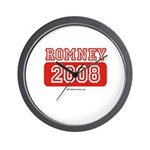 Romney 2008 Wall Clock