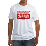 Romney 2008 Fitted T-Shirt