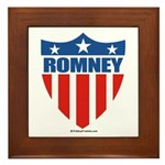 Mitt Romney Framed Tile