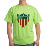 Mitt Romney Green T-Shirt