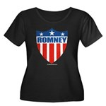 Mitt Romney Women's Plus Size Scoop Neck Dark T-Sh