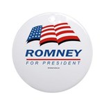 Romney for President Ornament (Round)