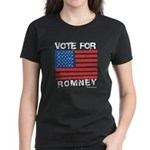 Vote for Romney Women's Dark T-Shirt