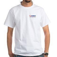 Romney for President White T-Shirt