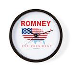 Romney for President Wall Clock