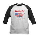 Romney for President Kids Baseball Jersey