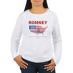 Romney for President Women's Long Sleeve T-Shirt