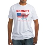 Romney for President Fitted T-Shirt