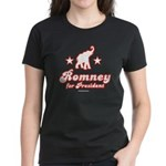 Romney for President Women's Dark T-Shirt